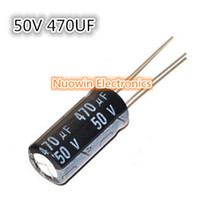 Wholesale UF V Electrolytic Capacitor V UF Aluminum Electrolytic Capacitor X20mm