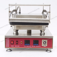 Wholesale Commercial Non stick V V Electric Tarlet Ice Cream Corn Bowl Machine with Removable Plate