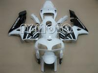 Prezzi Kit e bike-Carenature del motociclo per Honda CBR600RR 2005-2006 CBR600 RR CBR F5 05-06 corsa ciclistica carenature iniezione carenature Carrozzeria Kit Bianco e nero