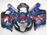Wholesale Fairings GSXR750 Blue Flame Injection moulding Motorcycle Fairing for Suzuki GSXR750 year K4 ZXGYMT