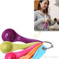 Wholesale 5pcs Kitchen Measuring Spoons Spoon Cup Baking Utensil Set Kit E00106 SPDH