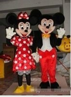 Wholesale cartoon Mickey Minnie Mickey Mouse cartoon mascot costume dolls walking cartoon Doll clothing fashion show costumes