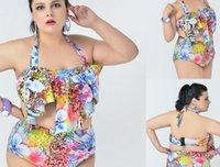 big fringes - PLUS SIZE Big and Beautiful Womens Retro Fringe Tassel Top High Waisted Bikini Push Up Bandeau Rockabilly Swimwear Swimsuit