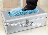 automatic shoe cover dispenser - Automatic Shoe Cover Step in Bootie Dispenser Machine System With Cover Refills