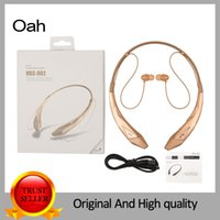 wireless headphones - HBS902 LEISURE Wireless Bluetooth headset Neckband Style With MIC Bass Headphones Earphone with stereo HiFI NFC MP3 FM