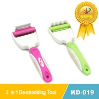 Wholesale Professional Pet Deshedding Too in Dog Grooming Brush Cat Grooming Tool Superb in Design Dematting Comb For Your Pets
