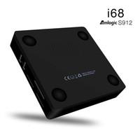 ac hdmi - I68II Amlogic S912 Octa Core TV Box Android GB RAM GB ROM G G ac Mbps LAN BT Android Marshmallow i68ii tv box