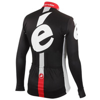 bicycle jersey design - Cervélo New Design Cycling Jerseys Long Sleeve Men Winter Thermal Fleece Road Bicycle Clothing Black White Comfortable Road MTB Sports