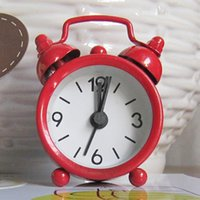 alarm clock bell - 8 Brand New Retro Twin Bell Bedside Desk Analog Quartz Alarm Clock FG04058