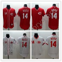 baseball jersey embroidery - 2016 Cincinnati Reds Jerseys Throwback Pete Rose sports MLB Baseball Flexbase Jersey men s Cool Base Jersey shirt men Embroidery Logo