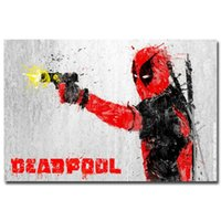 abstract fabric prints - Deadpool USA Superheroes Comic Movie Art Silk Fabric Poster Print x36 inches