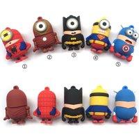 bats stock - Full capacity usb minion super hero man bat man usb flash drive GB GB GB GB Memory Stick Pen Drive usb