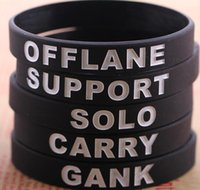 american rubber products - Bracelets Bracelets Bangles Dota Dota2 Game Product Bracelets Silicone Wristband Rubber