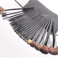 Wholesale Professional Makeup Brush Set tools Make up Toiletry Kit Wool Brand Make Up Brush Set Case Cosmetic brush