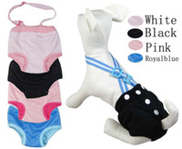 Wholesale l l new Pet dog pants health strap physiology physiology pants dog supplies special suspender trousers
