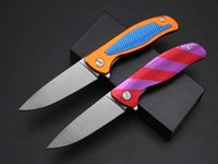 Wholesale Shirogorov handle CR18MOV Blade HRC hunting survival camping outdoor knife EDC tools