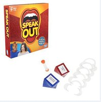 Wholesale Speak Out Game Best Selling Board Game Interesting Party Game for christmas for hallowmas Of with high quality and fast shippment FF