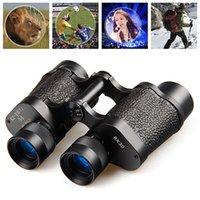 Compra Hd militar-COMET 8x30 completamente Multi-revestida HD ocular de enfoque Porro prismáticos militares óptico para el recorrido de aves de deporte que ven W2321A