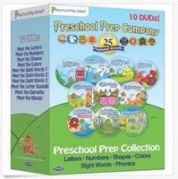 Wholesale In Stock Preschool Collection disc quantities for latest DVD Movies TV series exercise dvd hot item DHL
