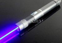 aluminum combustion - Blue Beam Laser Pointer with Glasses Charger aluminum Combustion Lgnition Cutting Irradiate m SOS burning match camping signal lamp Hu
