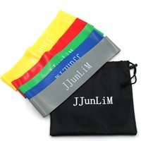 Wholesale Quality Rubber resistance bands set Fitness workout elastic training band for Yoga Pilates band crossfit bodybuilding exercise
