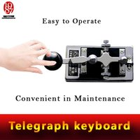 away keyboard - real room escape room props Morse Code telegraph keyboard enter password on keyboard to run away from chamber room