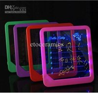 Wholesale led Advertising display board bar message board writing board Light Fluorescent Lots200