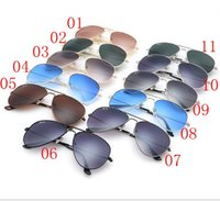 Wholesale 11 Colors Fashion Sunglasses For Men Brand Designer Sun Glasses Summer Style Glasses Sport Outdoor Cycling Protective Gear Cool Glasses