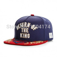 ball packaging products - New brand New Products C S King Dragon deep blue baseball snapback hat cap for men women sports hip hop sun bone Box packaging