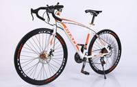 al por mayor velocidad variable-2016 La nueva bicicleta de velocidad variable curva la carrera de carretera 700cc estudiantes masculinos y femeninos de la bicicleta de carretera de alta