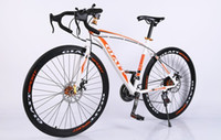 Wholesale 2016 The new variable speed bicycle curved road race cc male and female students the high road bike