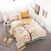 Wholesale Dreaming Tree Air conditioning Blanket Thin Quilt Comforter Summer Quilts for Kids Adults Cotton Home Textile Gift Not Included Pillowcase