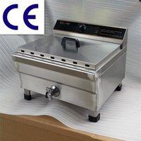 big deep fryer - Electric fryer big tank frying oven_stainless steel deep fryer L Commercial Countertop Deep Fryer reliable quality