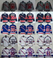 Wholesale New Cheap Hockey jerseys NY Rangers LUNDQVIST ZUCCARELLO NASH Jersey Drop shipping freeshipping