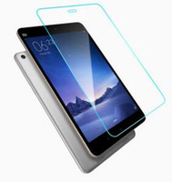 Wholesale High Quality Tempered Glass Screen Protector for Xiao Mi Pad Pad2 inch H Clear Screen Protectors Retail Packaging