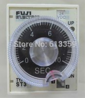 Wholesale Fuji ST3P A B VDC A Hz S S S M Spot Super Timer Relay With base