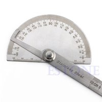 Wholesale Y142 New Hot Stainless Steel Degree Protractor Angle Finder Arm Measuring Ruler Tool
