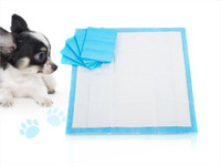 accessories dogs training - Pet Dog Cat Diaper Super Absorbent House Training Pads for Puppies Polymer Quicker Dry Pet Pads Healthy Clean Wet Mat Wholesales