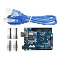Wholesale NEW ATmega328P CH340G UNO R3 Board USB Cable for Arduino DIY
