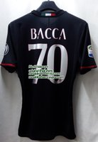 ac prints - slim fit AC milan home jersey player version bacca professional print Serie A Honour available