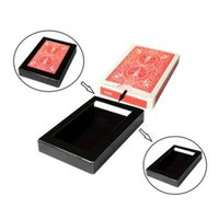 Wholesale Vanishing Disappearing Deck Cards Box Close Up Street Magic Trick Illusion