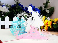 Wholesale Thanksgiving Mother s Day D Three dimensional Originality Blessing Greeting Card Manual Festival Card Can Customized