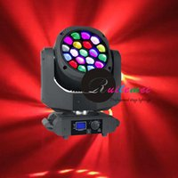 Wholesale Color Screen Zoom Rotating Lens B EYE Wx19 Osram Led RGBW in Vortex Moving Head Beam and Wash and Color Spot Effect Stage DJ Lights