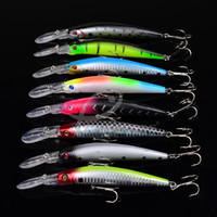 Wholesale Big Game Fishing ABS Plastic hard lure cm g Saltwater fishing wobbler crank plastic bait for bass fishing