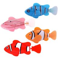 Wholesale 2016 HOT sale Robofish Activated Battery Powered Robo Fish Toy fish Robotic Pet Presents for the children