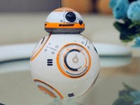 Wholesale Hot sale Remote control robot BB Star Wars The Force Awakens BB8 Driod can move and make sound likes in the movie