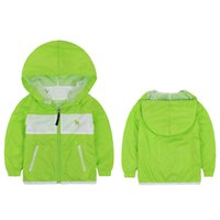 air conditioning lines - New Design Summer Style Children Sun Protective Clothes Boy Jacket Hooded Outerwear Air Condition Cardigan Zip Coat VJ0160 kevinstyle