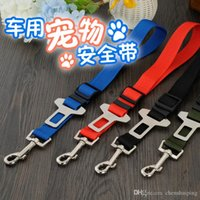 Wholesale Hot sale Adjustable Practical Pet Dog Seat Belt Harness Car Automotive Seat vehicle safety clasp Dog Supplies