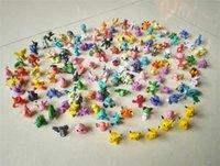 Wholesale Poke Monster Toys Poke Monster Mini Figures Pikachu Action Figures Toy Best Gifts For Children cm D875