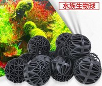 Wholesale 36MM Aquarium Bacteria Filter Ball PVC Fish Tank Bio Balls With Biochemical Cotton